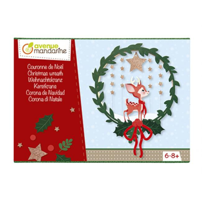 Avenue Mandarine KC061C  Kreatív doboz,Karácsonyi koszorú