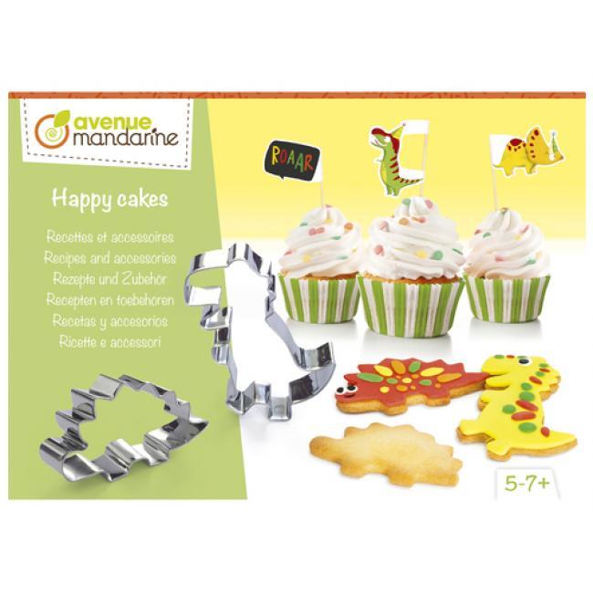 Avenue Mandarine KC107C Boldog sütemények, Receptek és kiegészítők, Dinoszauruszok