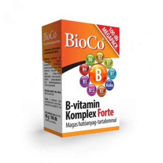 Bioco b-vitamin komplex forte tabletta [100 db]
