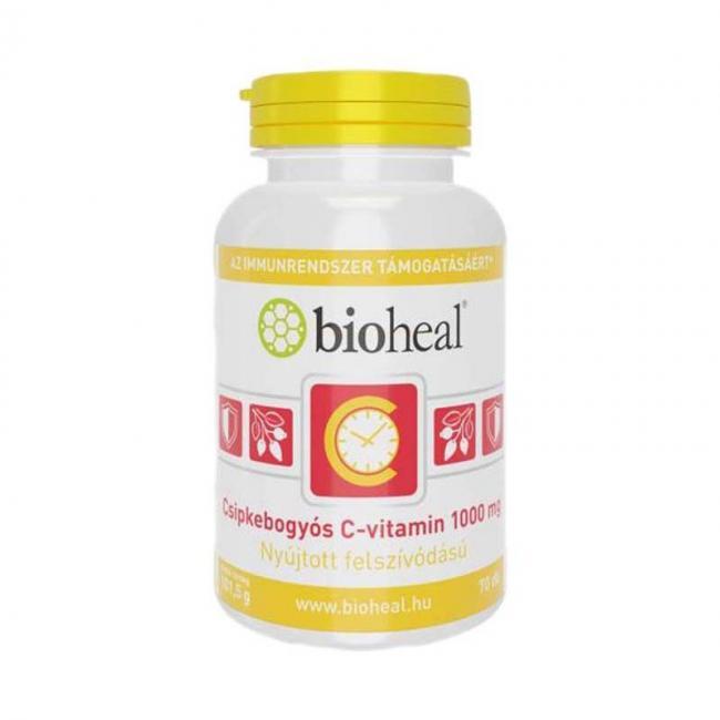 Bioheal Csipkebogyós C-vitamin 1000 mg nyújtott felszívódással [70 db]