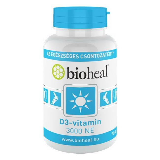 Bioheal D3 vitamin lágykapszula [70 db]