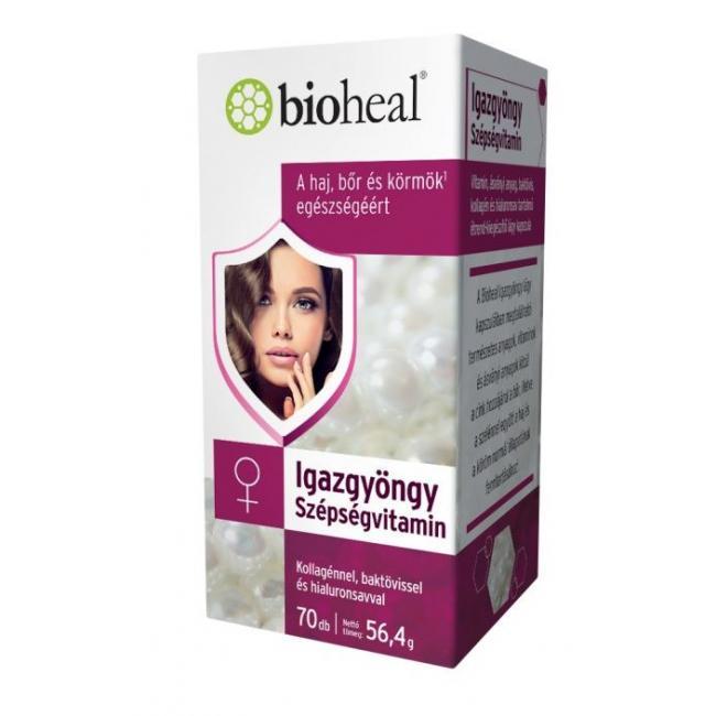 Bioheal igazgyöngy szépségvitamin [70 db]