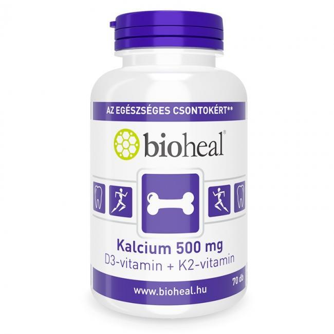 Bioheal kalcium+d3 vitamin tabletta [70 db]