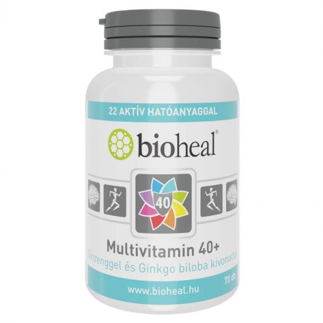 Bioheal multivitamin 40+ tabletta [70 db]
