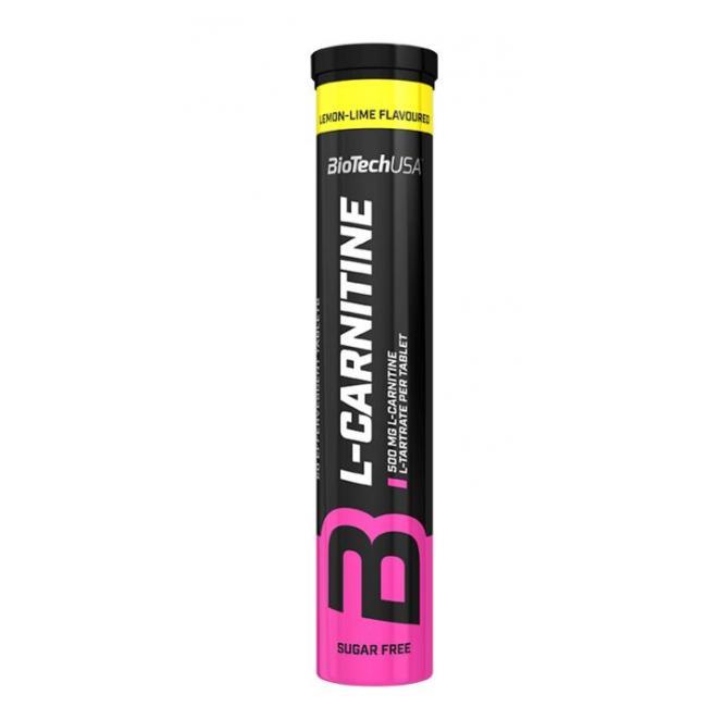 Biotech l-carnitine pezsgõtabletta citrom-lime [20 db]