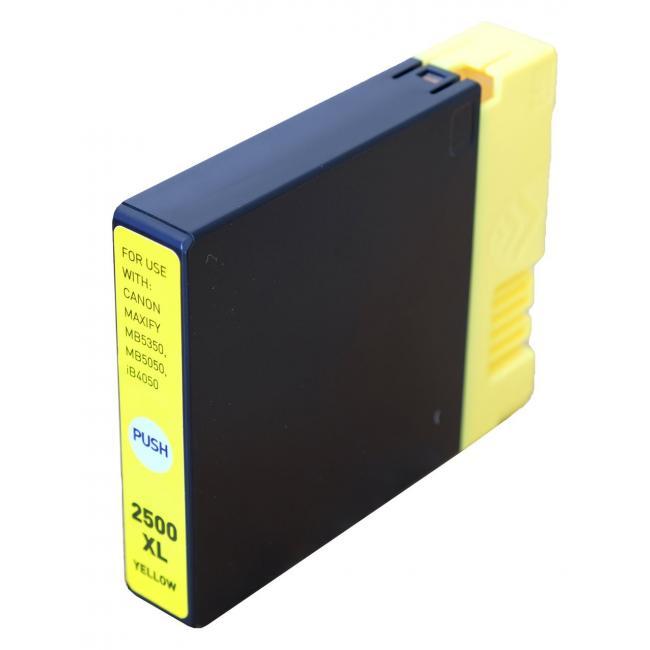 Canon PGI-2500 XL [Y] kompatibilis tintapatron (ForUse)