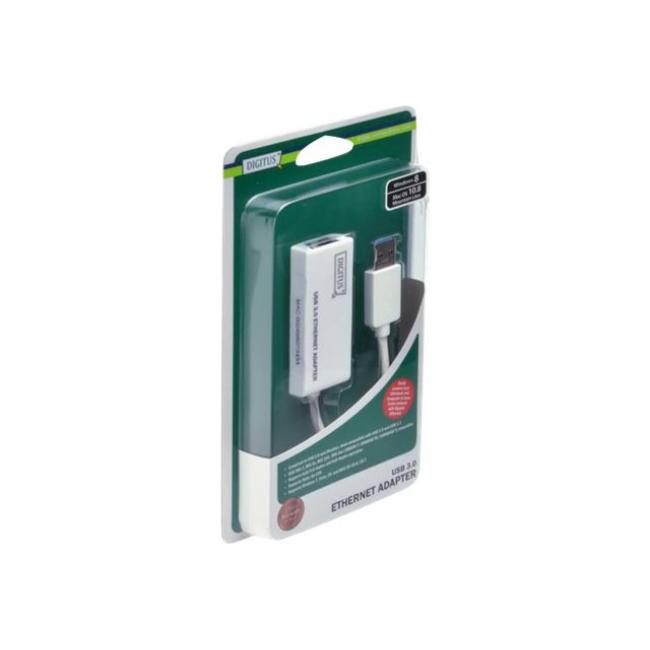 DIGITUS DN-3023 DIGITUS® Gigabit Ethernet USB 3.0 Adapter