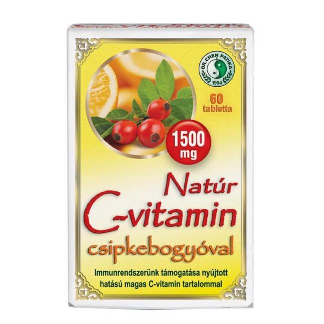 Dr.chen c-vitamin csipkebogyóval [60 db]