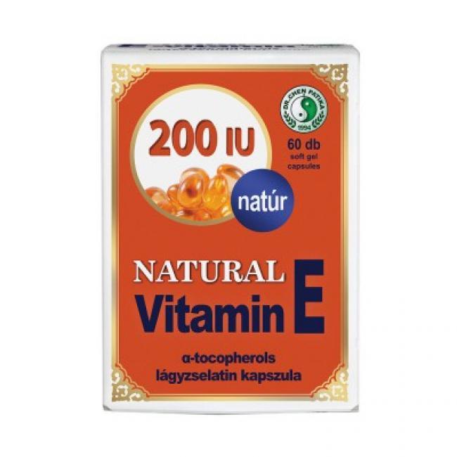 Dr.Chen natural E-vitamin 200IU [60 db]
