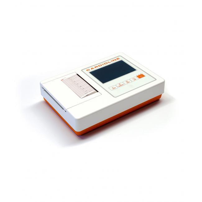 EKG Cardioline 100L with Glasgow Option, 6 csatornás, th. kiegészítőkkel