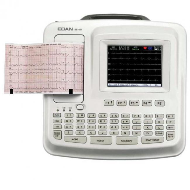 EKG EDAN SE601B, 6 csatornás