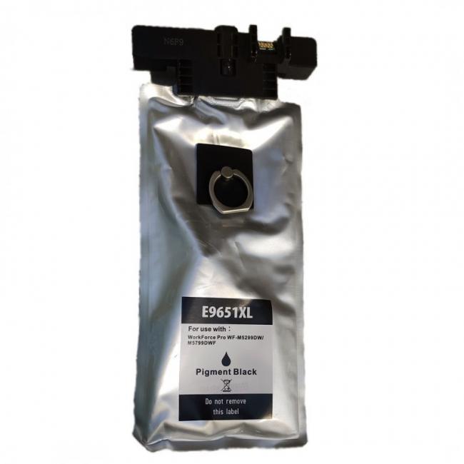 Epson T9651 kompatibilis [Bk XL] tintapatron (ForUse)