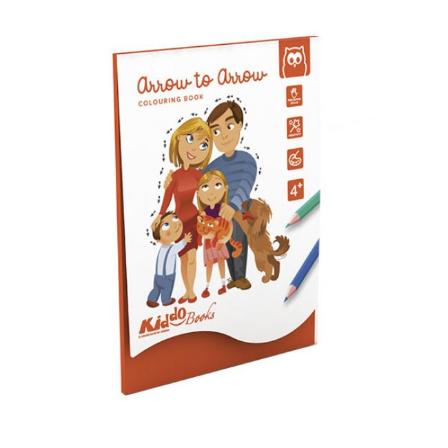 Eurekakids 10484021 Színező Könyv - Foglalkoztató Mindenkinek