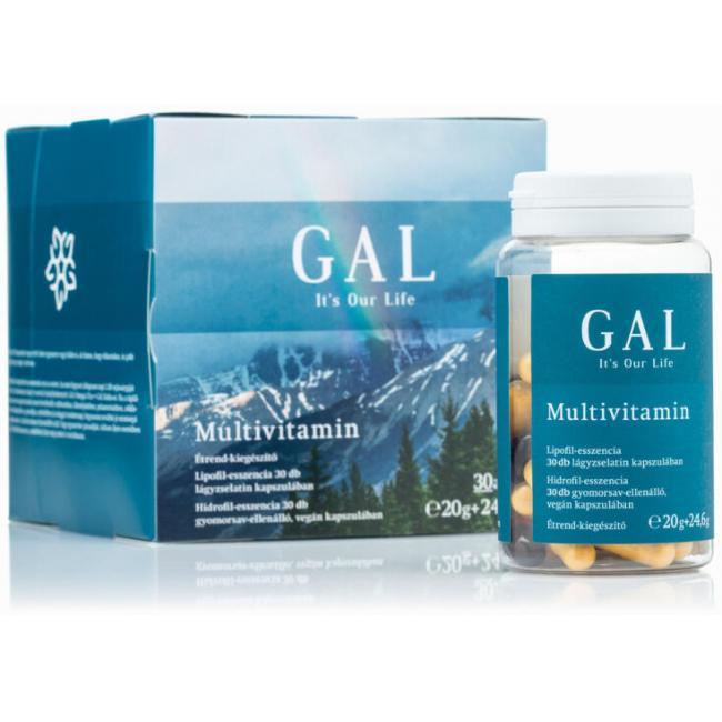 GAL Multivitamin [30+30 db]