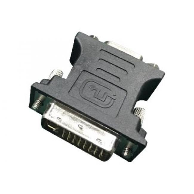 GEMBIRD A-DVI-VGA-BK Gembird adapter DVI-A 24-pin apa / VGA 15-pin HD (3 sor) fekete