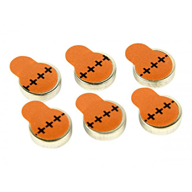 GEMBIRD EG-BA-ZA312-01 Energenie Hearing aids button cell ZA312, 1.4V, 6-pack, blister