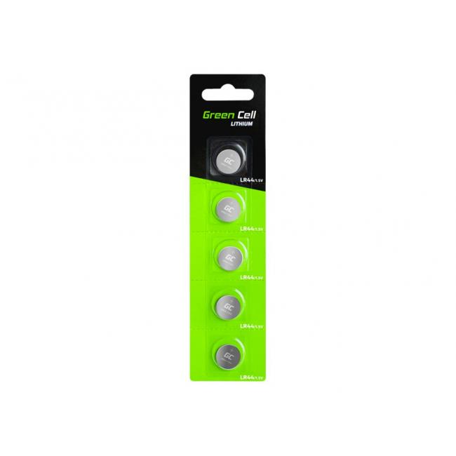 GREEN CELL 5x battery LR44 1.5V
