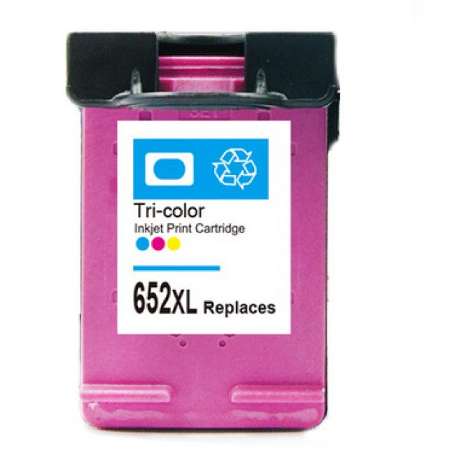 HP F6V24AE [Col XL] #No.652 kompatibilis tintapatron (ForUse)