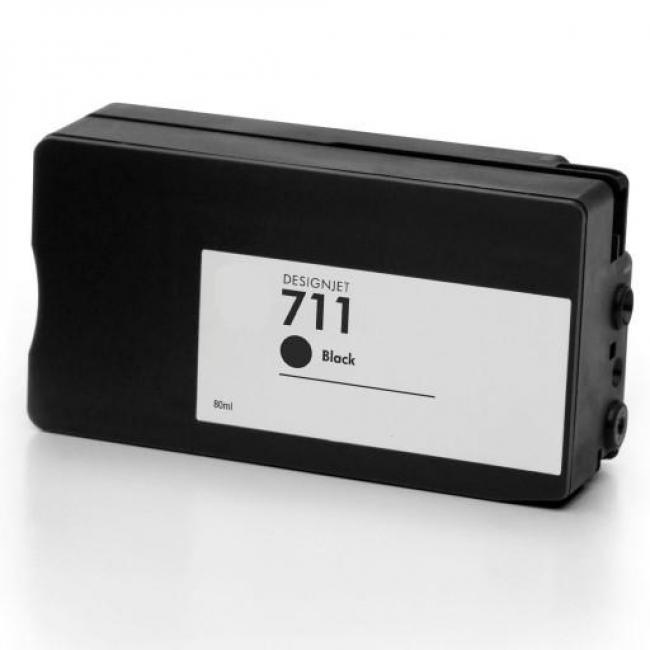 HP CZ133A [Bk XL] #No.711 kompatibilis tintapatron (ForUse)