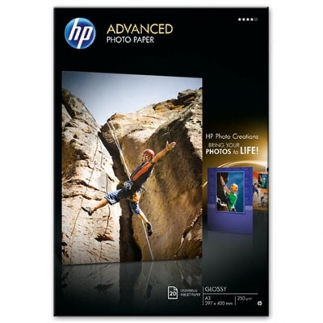 HP Glossy [A3 / 250g] 20db fotópapír #Q8697A