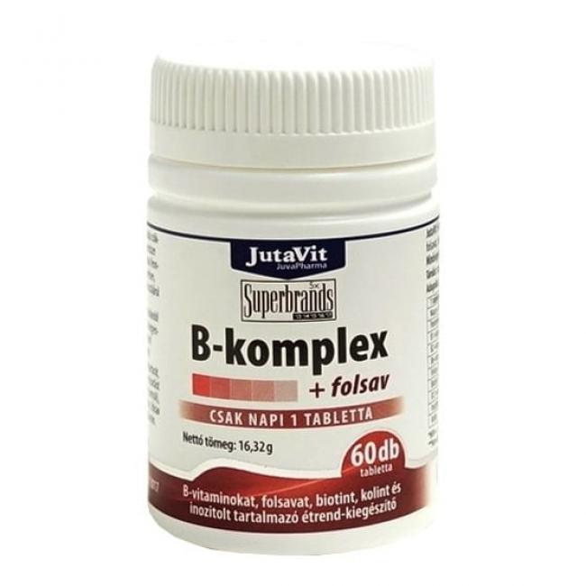 Jutavit b-komplex + folsav tabletta [60 db]