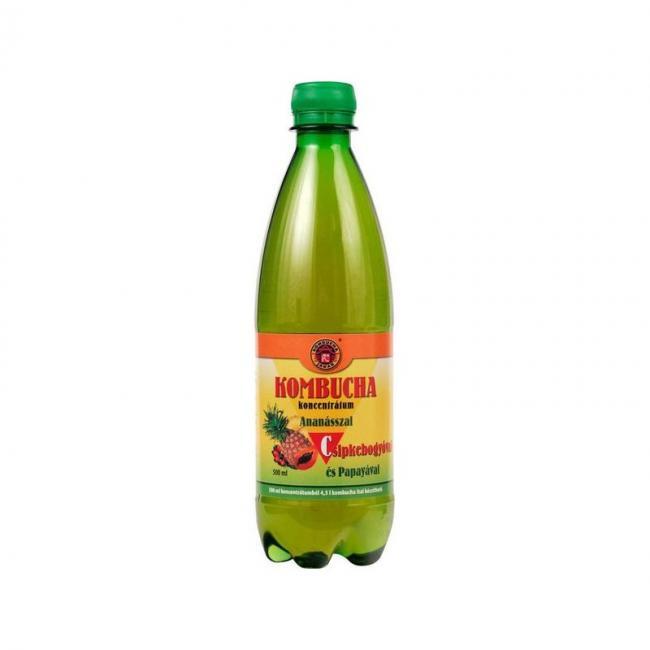 Kombucha-C koncentrátum ananász-csipkebogyó [500 ml]