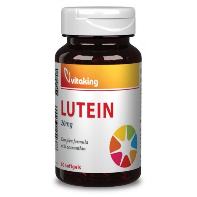 Vitaking Lutein 20 mg gélkapszula [60 db]