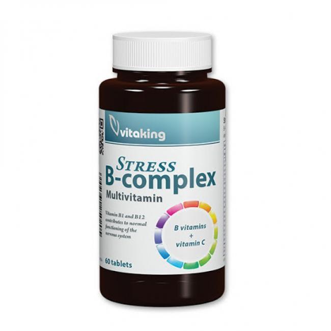 Vitaking Vitamin B-complex stressz kapszula [60 db]