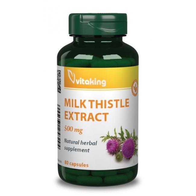 Vitaking Máriatövis extract 500mg kapszula [80 db]