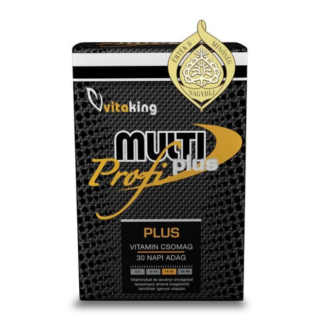 Vitaking Profi Multi Plusz [30 db] havi csomag