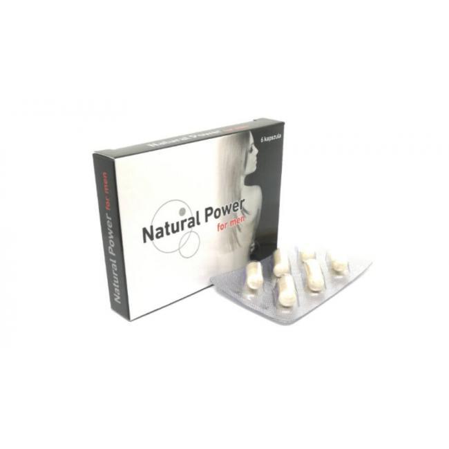 Natural power for men kapszula [6 db]