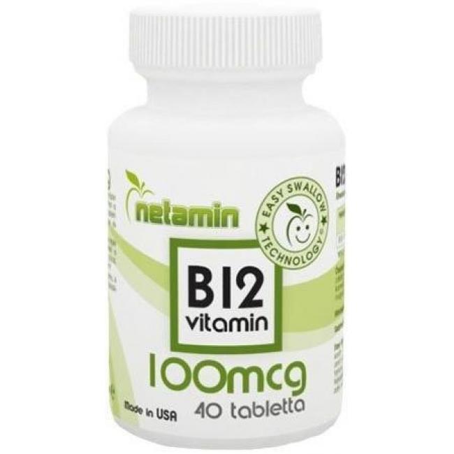 Netamin B12-vitamin tabletta [40 db]