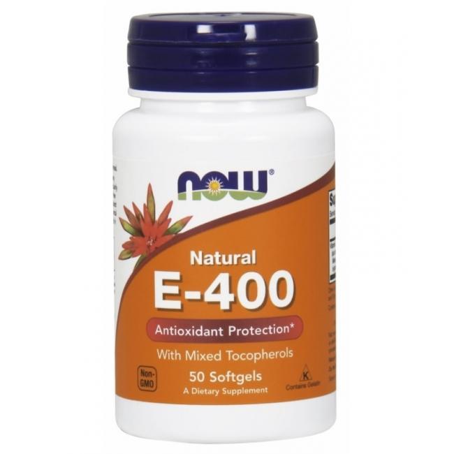 Now E vitamin, E-400 kapszula [50 db]