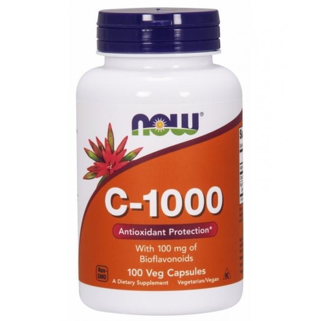 Now vitamin C-1000 kapszula+Bioflavonoid [100 db]