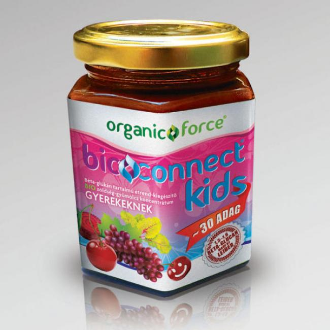 Organic force bioconnect kids koncentrátum gyerekeknek [210 g]