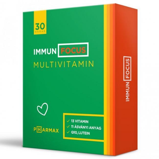 Pharmax Immun Focus kapszula multivitamin [30 db]