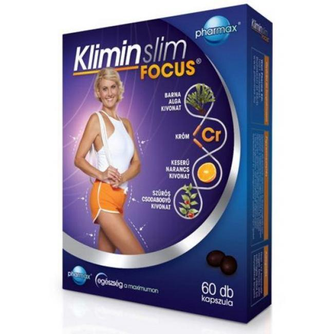 Pharmax klimin slim focus kapszula [60 db]