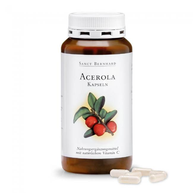 Sanct bernhard acerola+c-vitamin kapszula [300 db]