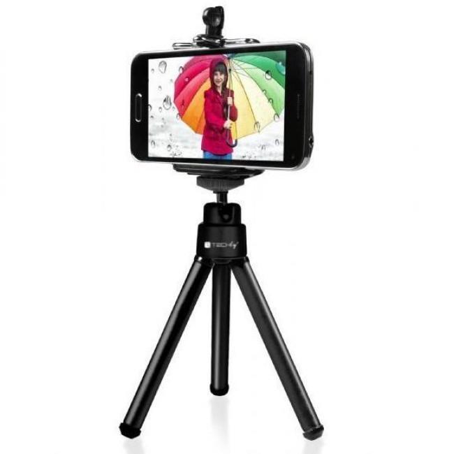 Techly univerzális selfie állvány okostelefonok és diigitalis kamerák számára