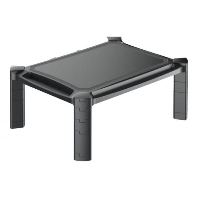TECHLY 028474 Techly univerzális LED/LCD monitor állvány, szabályozható magasság, 10 kg-ig