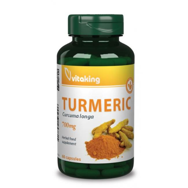 Vitaking Kurkuma (Turmeric) 700mg kapszula [60 db]