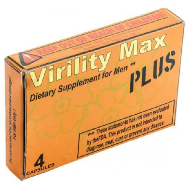 Virility max kapszula [4 db]