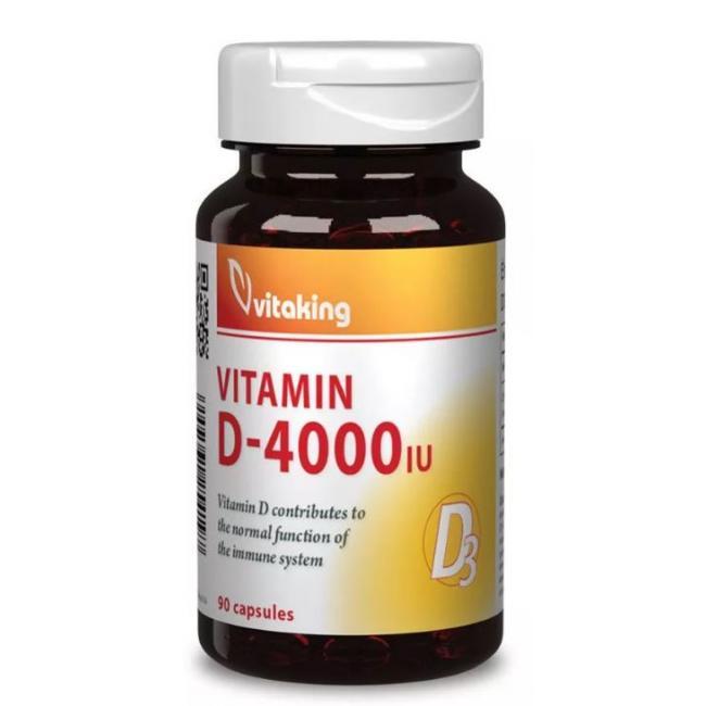 Vitaking d-4000 kapszula [90 db]