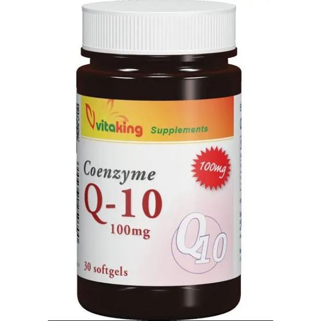 Vitaking Coenzyme Q10 100 mg gélkapszula [30 db]