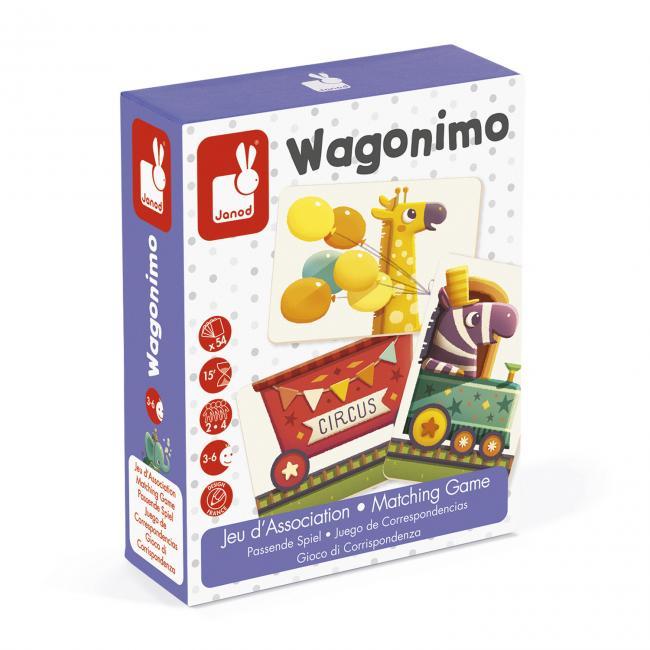 Wagonimo - párosító játék
